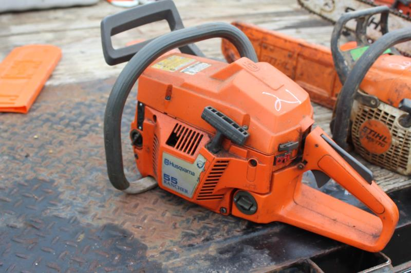 Lot 21 - HUSQVARNA 55 RANCHER CHAIN SAW