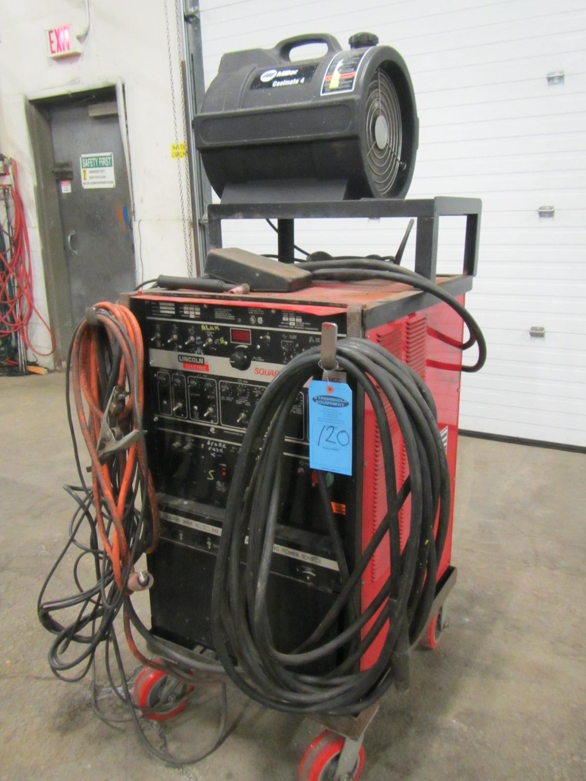 tig itm lincoln cooler gun cart electric clamp welders nice welder