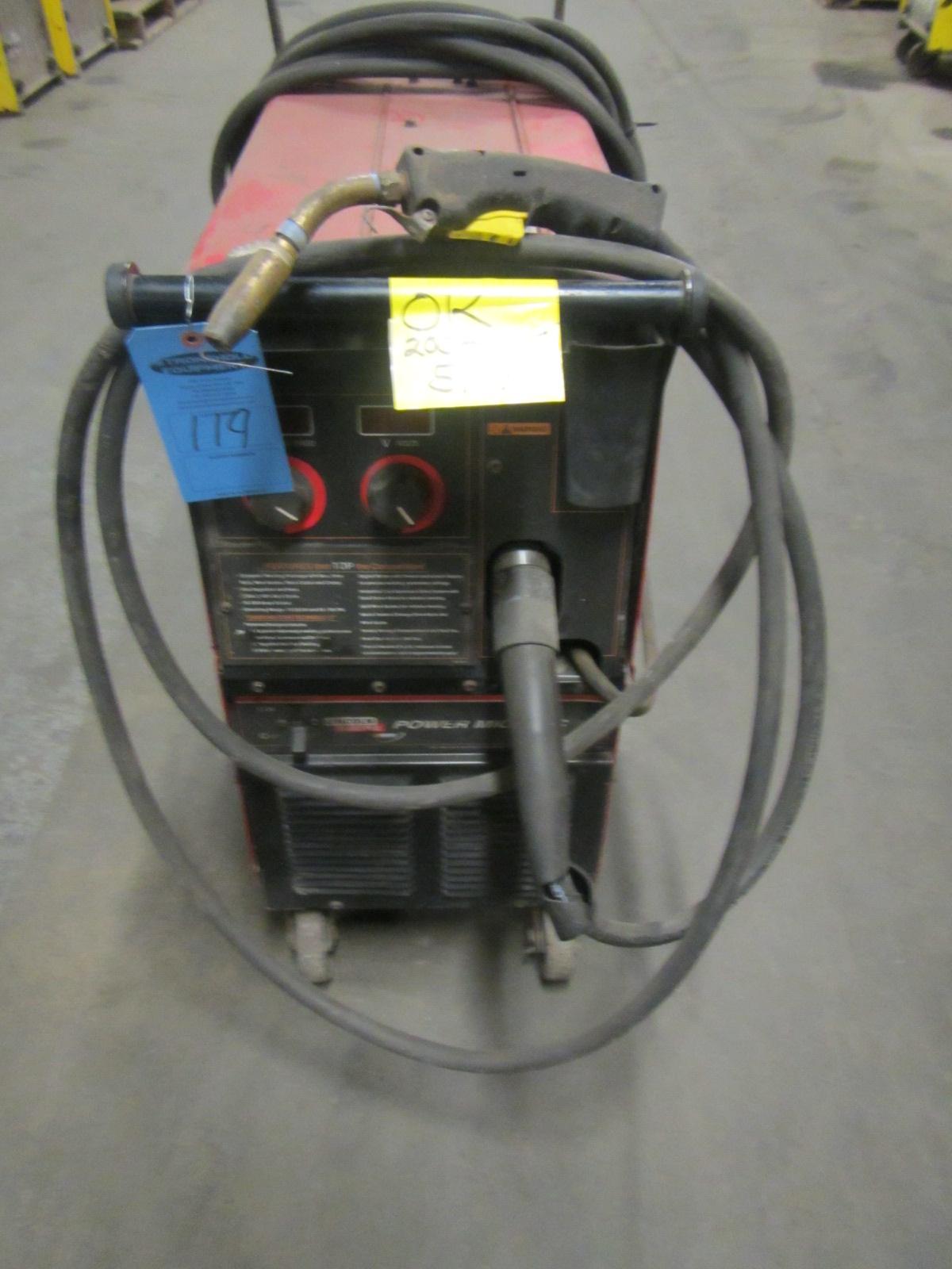Lincoln Mig welder 255c manual