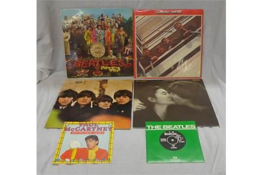 Beatles Vinyl LP With The Beatles Mono PMC1206, Rubber Soul