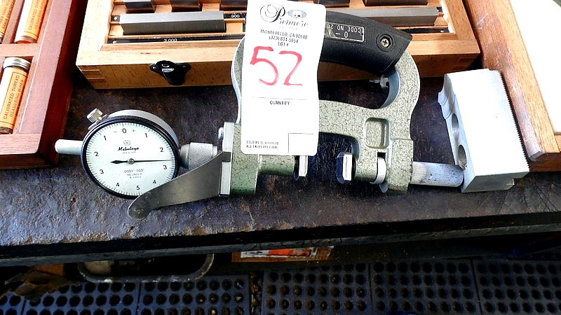 Lot 52 - MITUTOO TEST GAGE