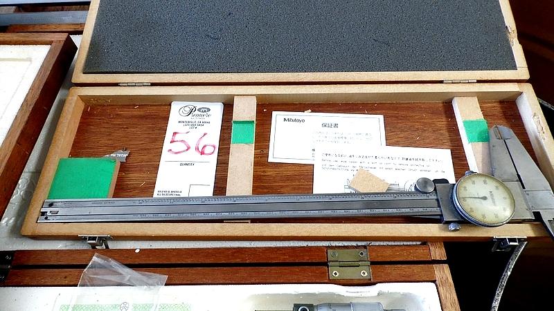Lot 56 - MITUTOYO CALIPER w/ BOX