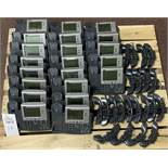 21 CISCO PHONE SYSTEMS - MODEL 7940 - INCLUDING HANDSETS ALL ITEMS ARE SOLD AS IS UNTESTED BUT