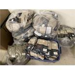 Pallet of DriFire Tactical Clothing, Approx 450+, New in Packaging, Tan, Various Sizes and Styles