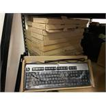 25 New in Box HP Keyboards