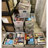 385+ VHS Movie Videos, Including Disney, Three Stooges, and other classics