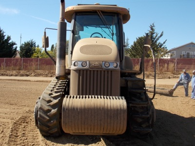 """Lot 107 - (2011) Challenger mod. MT765C, CAT-C-9-320 HP, 18"""" Track, GPS Crawler Tractor, Hrs: 7986; S/N 1456"""