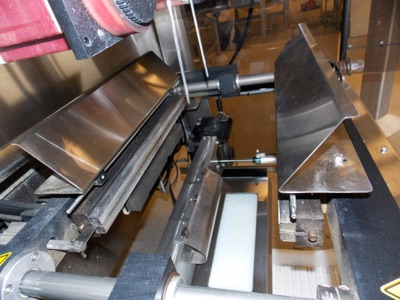 Lot 32 - Matrix Triton Form-Fill Bagger w/ Image Labeler (S/N 5B11524) & EPI Labeling Equipment (S/N 5937).