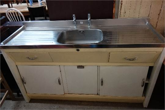 & A Paul Argyll kitchen sink unit