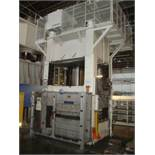 1,000 ton Capacity Hydraulic 4-Column Press