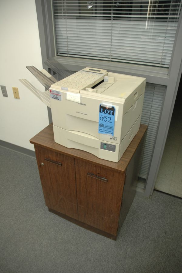 CANON LASER CLASS 9000L FAX MACHINE WITH CABINET