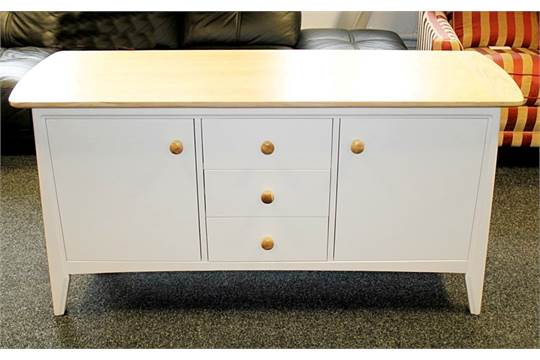 1 X Fryer Ash Top Painted Finish Sideboard