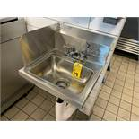 ADVANCE TABCO 7-PS-20 STAINLESS STEEL HAND SINK