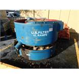 U.S. FILTER VL RAMPEMODEL SB-12 12 CUBIC FOOT VIBRATORY FINISHER S/N 12346