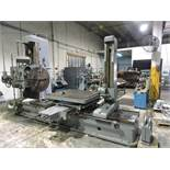 UNION MODEL BFT 100II HORIZONTAL BORING MILL S/N 7161, YEAR OF MANUF. 1958