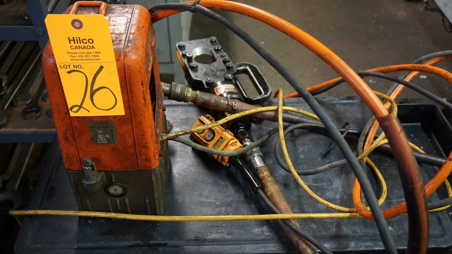 Lot 26 - Husky Model R14E-F1 Hydraulic Power Pack Serial Number: N/A