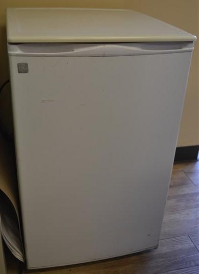 lot 19 white ge mini fridge - Ge Mini Fridge
