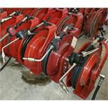 (1) Alemite / Reelcraft OIL Hose Reel w/ Electronic Meter (1 x Your Bid)