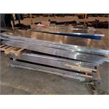 (12) SS Workstation Tops - Only - Assorted Sizes (NO Cabinets) (1 x Your Bid)