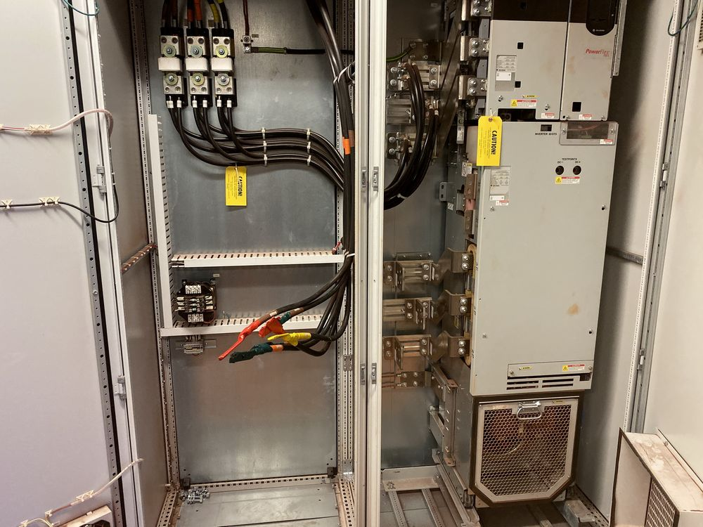 Lot of (3) AB/Rockwell VFD Panels (includes panels 569a to 569c) - Image 3 of 3