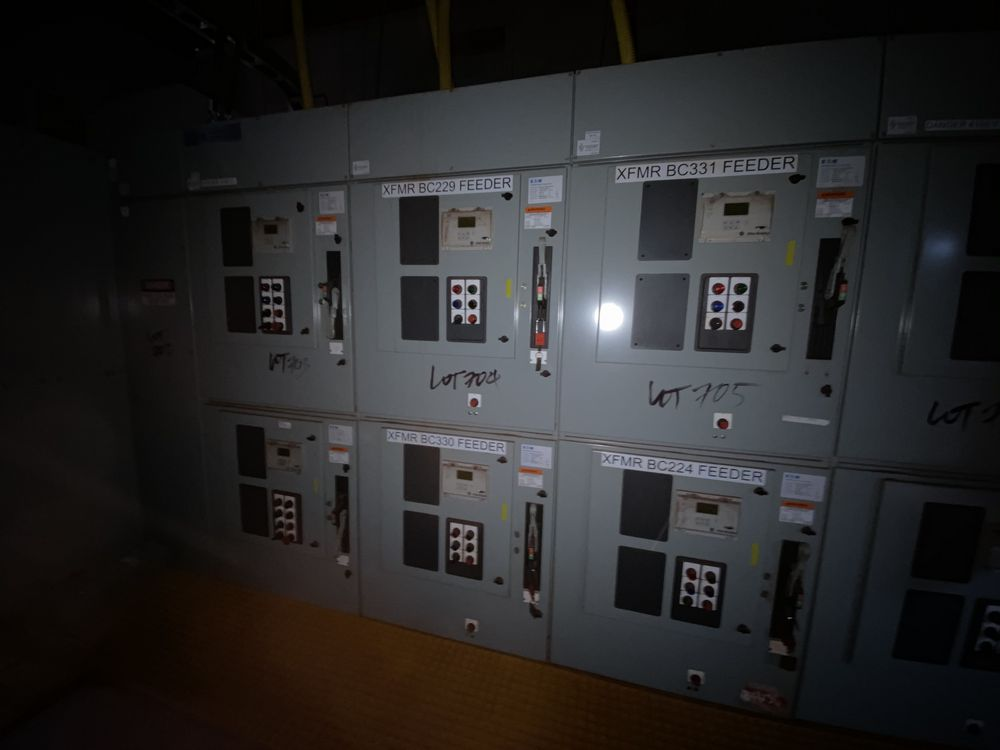 Medium voltage MCC Transformer Feed System (includes panels 701a to 701f) - Image 4 of 12