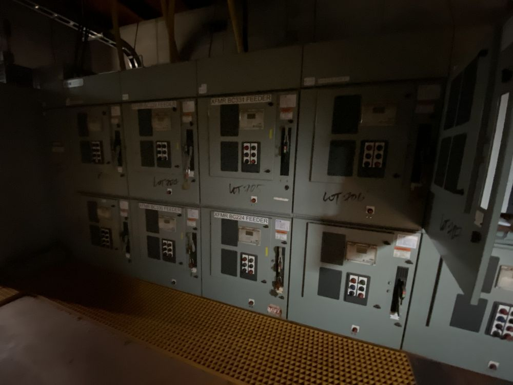 Medium voltage MCC Transformer Feed System (includes panels 701a to 701f) - Image 7 of 12