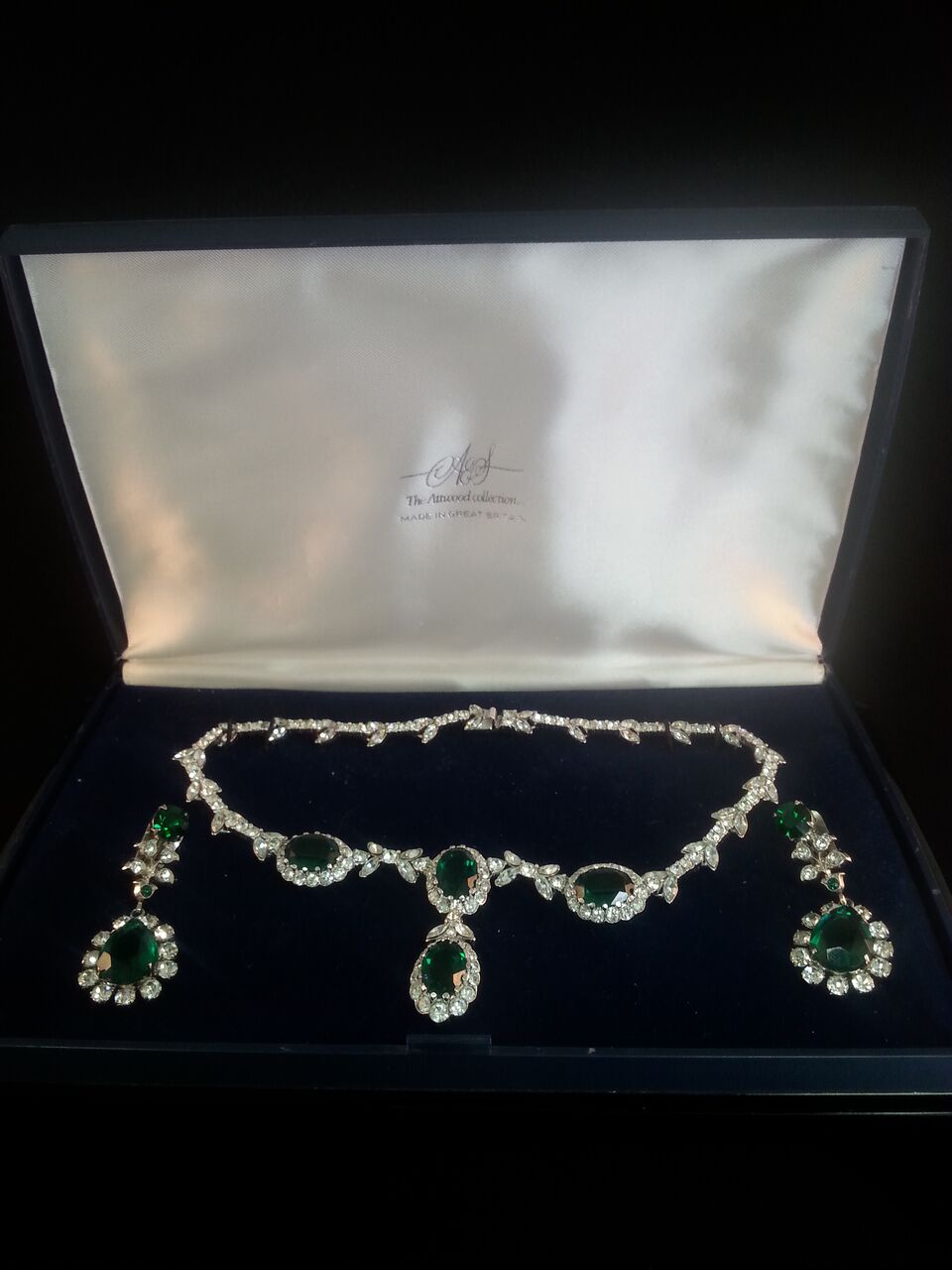 Lot 151 Superb Quality Vintage Attwood Sawyer Boxed Jewellery Set A High Value