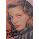 ACTRESSES: Selection of signed 6 x 8 photographs by various film actresses, including,