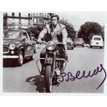 FRENCH CINEMA: Selection of signed 8 x 10 photographs by various French actors and actresses,
