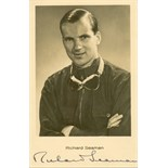 SEAMAN RICHARD: (1913-1939) British Racing Car Driver. A pre-war Grand-Prix famous driver.
