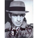 ACTORS: Selection of signed 6 x 8 photographs by various film actors including, Dick Van Dyke,