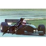 SCHUMACHER MICHAEL: (1969- ) German Motor Racing Driver.