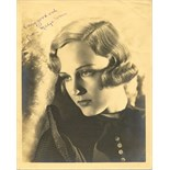 ACTRESSES: Selection of signed 8 x 10 photographs by various film actresses comprising Jane Frazee,