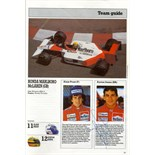 SENNA AYRTON: (1960-1994) Brazilian Motor Racing Driver, Formula One World Champion 1988,