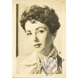 TAYLOR ELIZABETH: (1932-2011) English Actress, Academy Award winner. Vintage signed and inscribed 3.