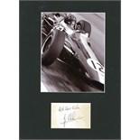 CLARK JIM: (1936-1968) Scottish Motor Racing Driver, Formula One World Champion 1963 & 1965.