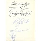 PELE: (1940- ) Brazilian Footballer & UWE SEELER (1936- ) German Footballer.
