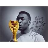 PELE: (1940- ) Brazilian Footballer.