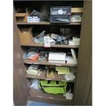 LOT - CONTENTS OF CABINET