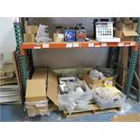 LOT - CONTENTS OF (1) SECTION OF PALLET RACKING