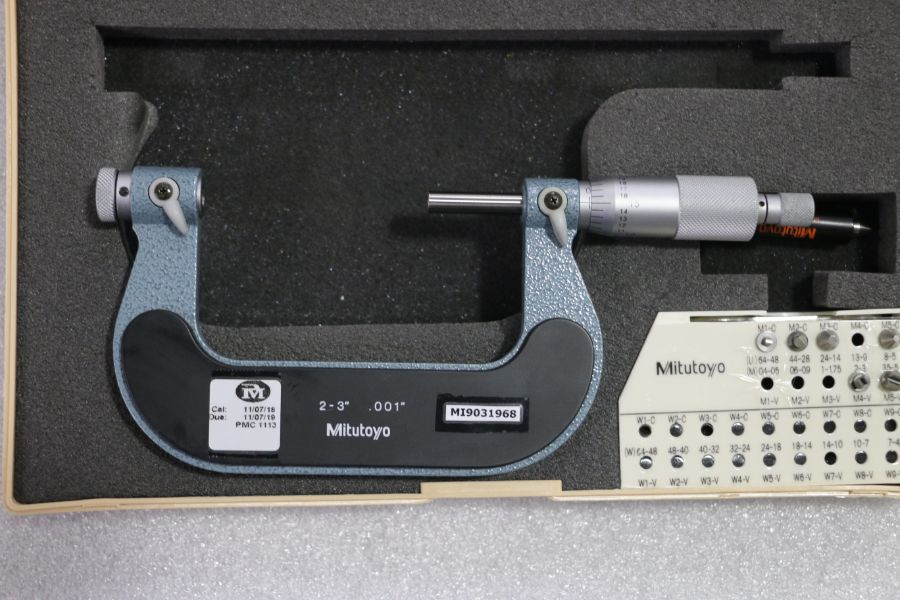 "Lot 26 - Mitutoyo 2"" - 3"" Pitch Micrometer"
