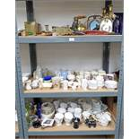LARGE SELECTION OF BRASSWARE ROYAL ALBERT TEASET,