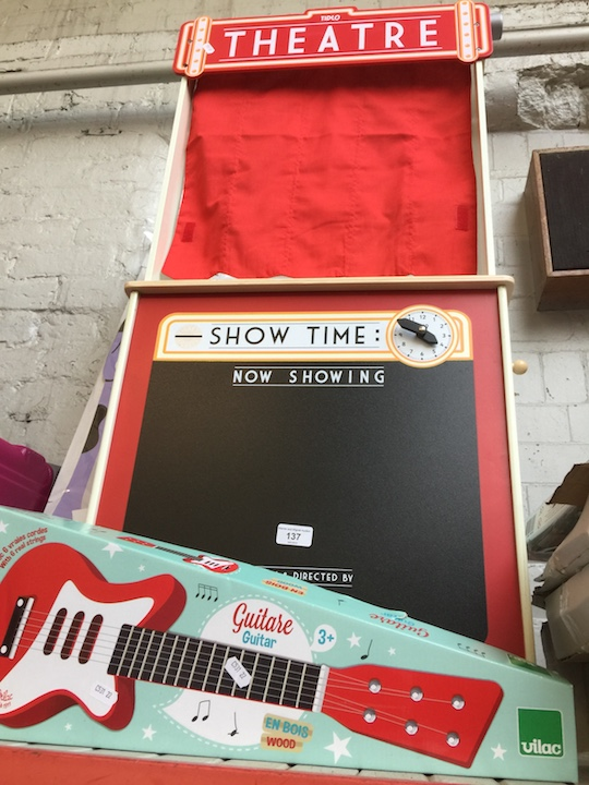 A Playshop And Theatre, 2 Height Charts And A Guitar