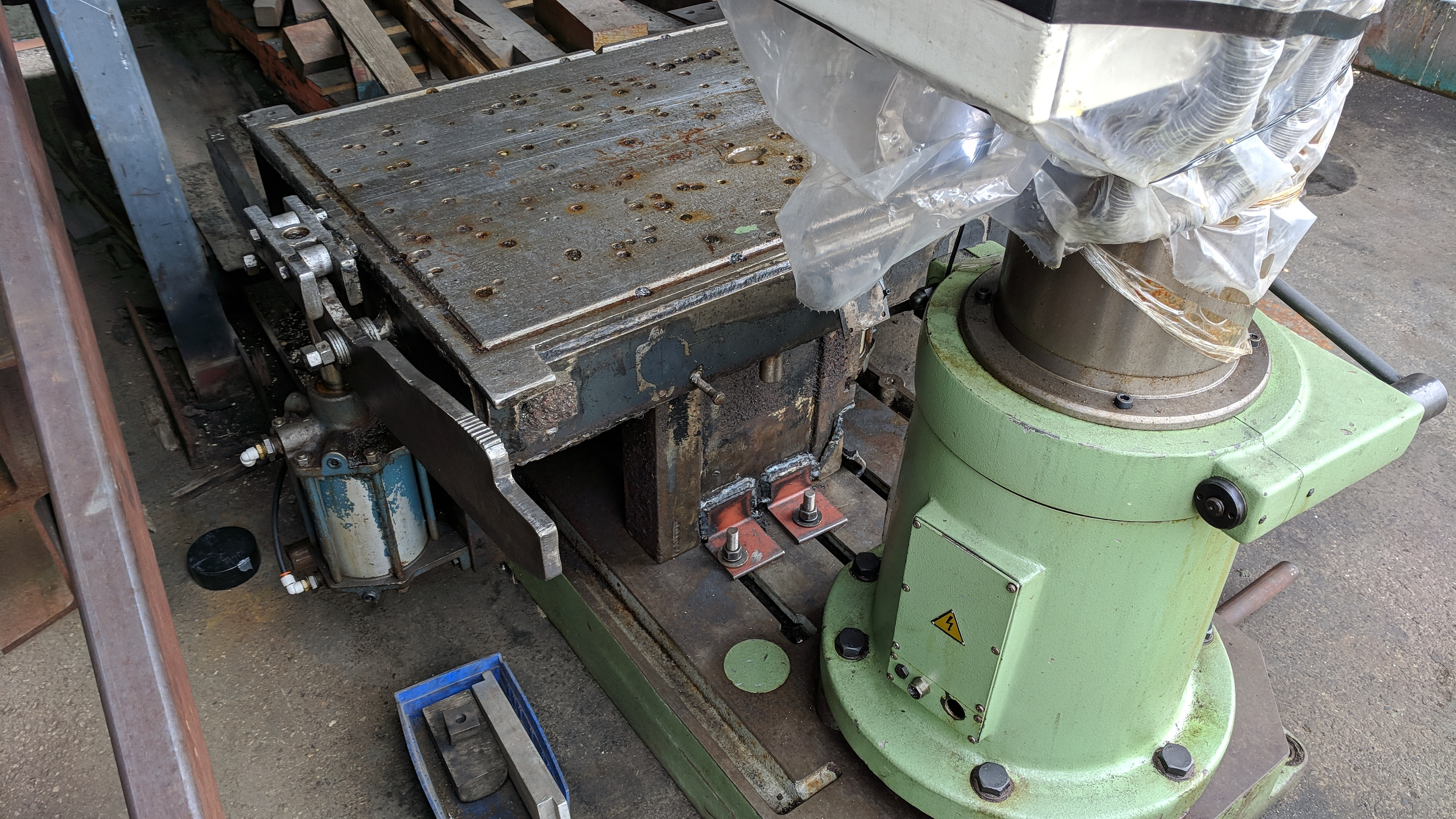 """MAS (1998) VO32 40"""" RADIAL ARM DRILL WITH 10"""" COLUMN, SPEEDS TO 2890 RPM, 3 HP, S/N 2663 (CI) - Image 7 of 7"""