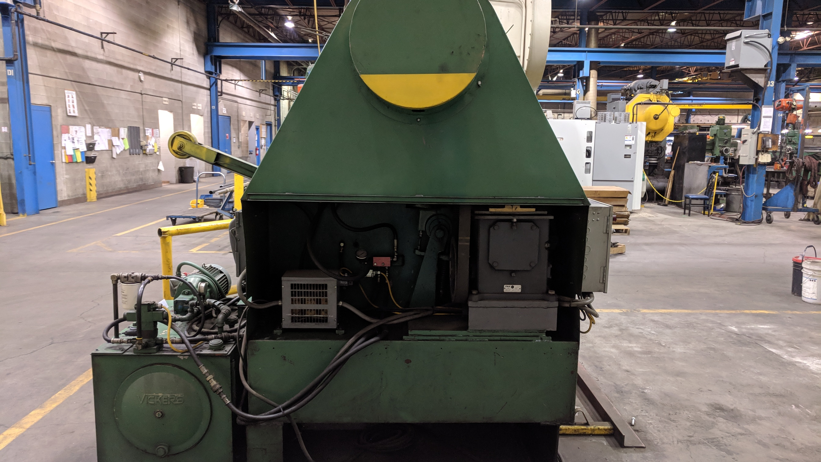 """PRESS LINE PL 1000 48"""" HYDRAULIC POWER UNCOILER, S/N 5608-3/77 (CI) - Image 4 of 6"""