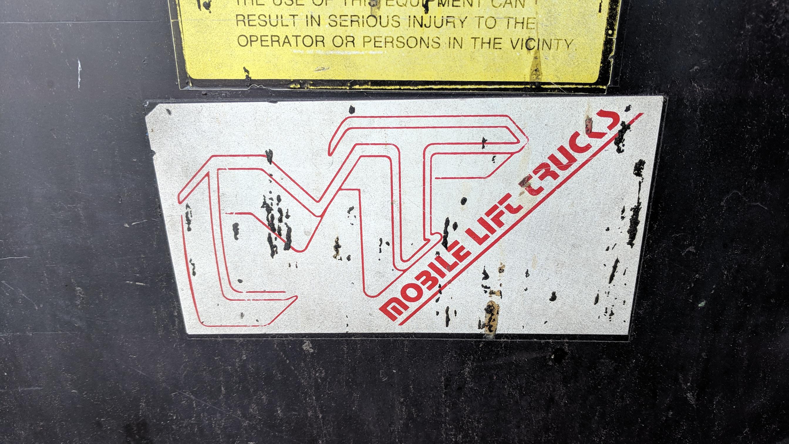 MT ELECTRIC DIE CART, S/N 43386E - Image 2 of 3