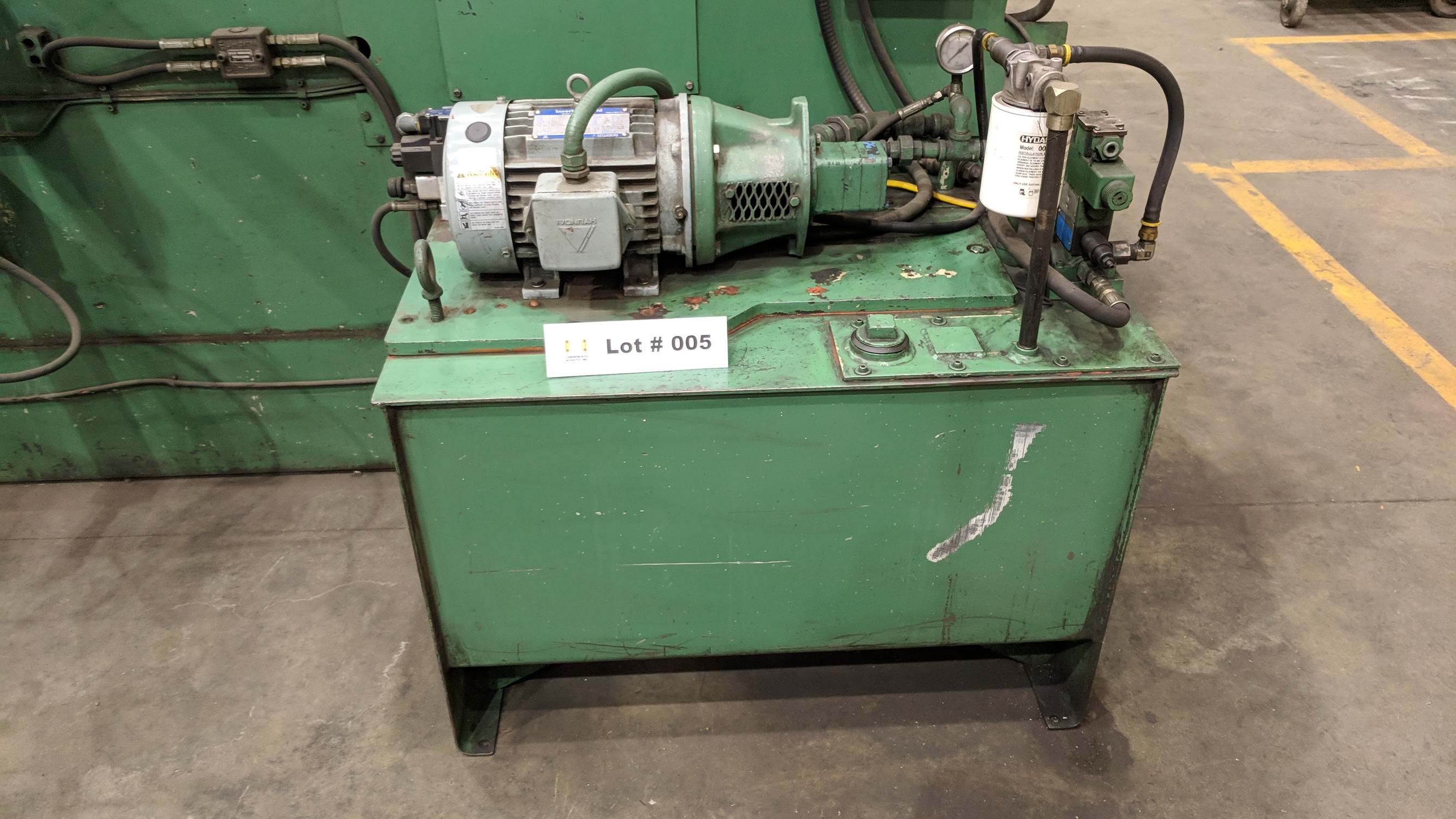 """PRESS LINE PL 1000 48"""" HYDRAULIC POWER UNCOILER, S/N 5608-3/77 (CI) - Image 2 of 6"""
