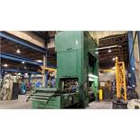 """BLISS SE4-600-108X72 600 TON CAPACITY STRAIGHT SIDE PRESS WITH MAGELIS 2000 PLC CONTROL, 108""""X72"""""""
