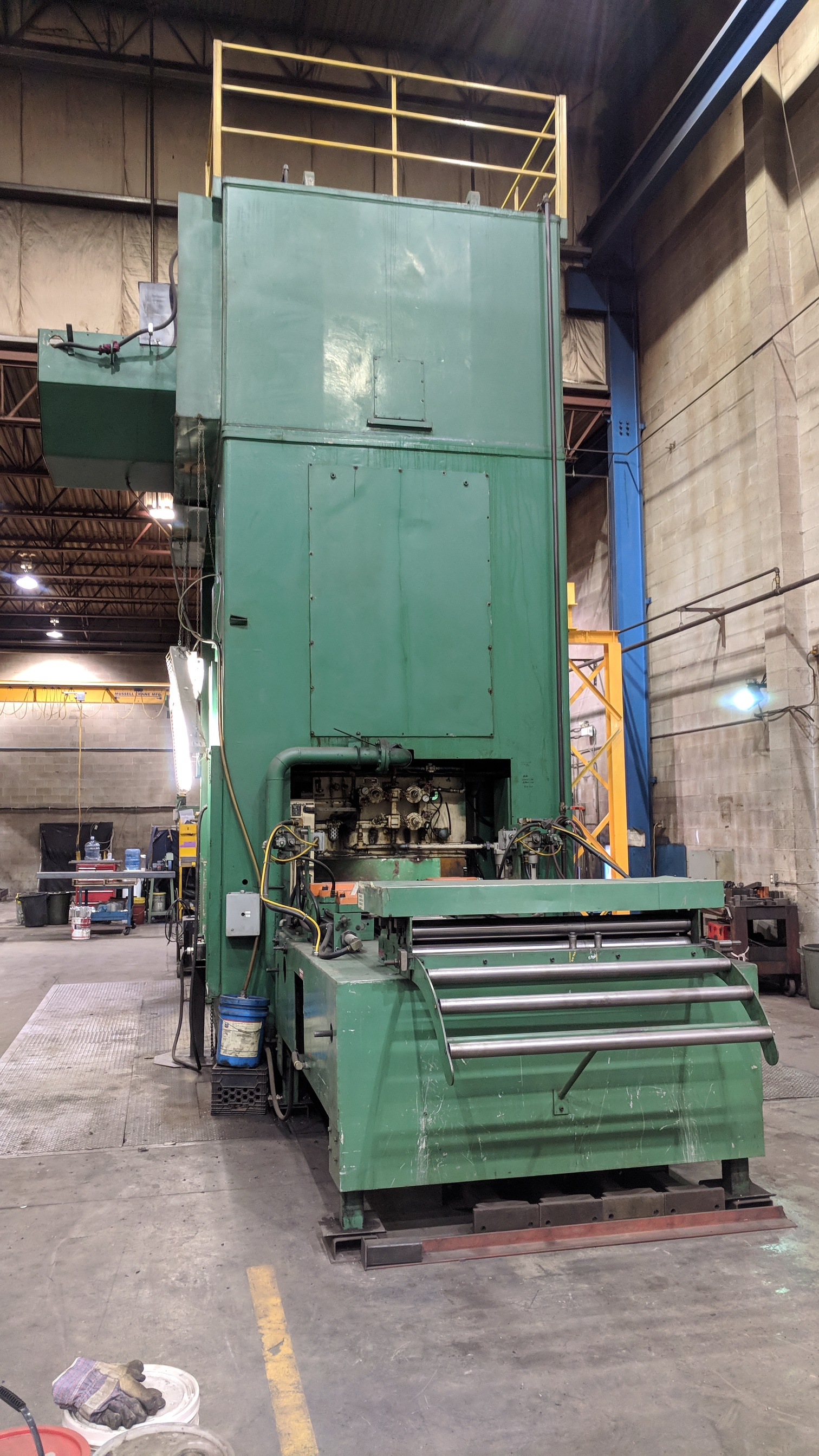 """BLISS SE4-600-108X72 600 TON CAPACITY STRAIGHT SIDE PRESS WITH MAGELIS 2000 PLC CONTROL, 108""""X72"""" - Image 6 of 21"""