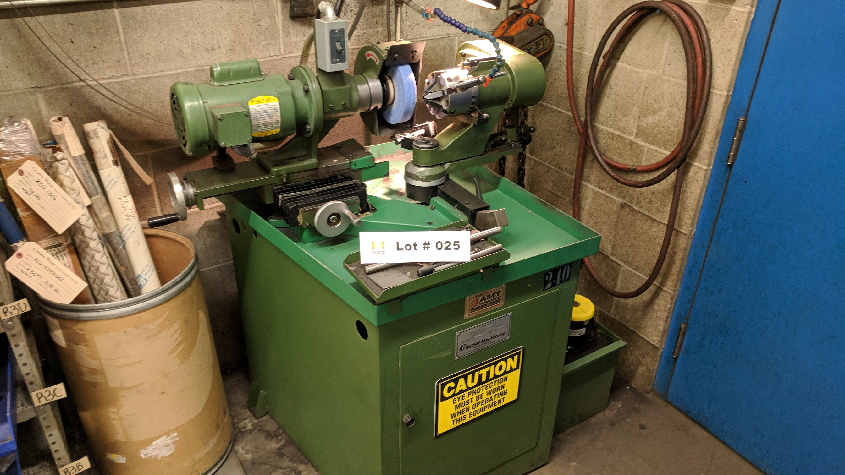 """RUSH MACHINERY (1999) 132C TOOL AND CUTTER GRINDER WITH 0.80"""" TO 1.25"""" CAPACITY, S/N 2380 (CI)"""